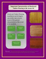 Important Characteristics Of Hardwood Timber Flooring To Be Aware Of