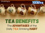 Tea Benefits: The Advantages of the Daily Tea Drinking Habit