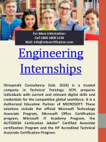 Internship For 1st Year Engineering Students