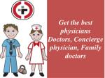 Optimum Concierge Healthcare  Physician and  family Doctors  - Diamond Physician