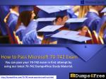 Microsoft 70-742 Dumps - Free Download 70-742 VCE and PDF Now