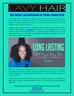 The Great Advantages Of Using Virgin Hair