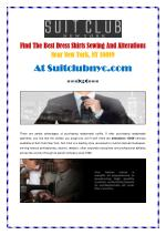 Custom Tailored Suits New York At Suitclubnyc.com