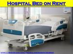 Find an affordable Hospital patient bed on rent for a month in Mumbai
