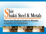 Hot Rolled Coils & Sheets supplier in Faridabad