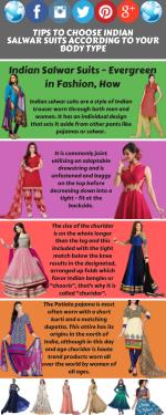 Tips To Choose Indian Salwar Suits According To Your Body Type