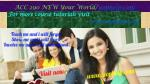 ACC 290 NEW Your World/uophelp.com