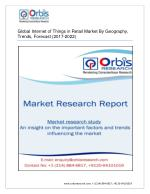 Global Internet of Things in Retail Market By Geography, Trends, Forecast (2017-2022)