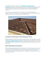Middleburg Heights Roofing Contractor