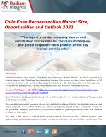 Chile Knee Reconstruction Market Share, Trends and Forecasts 2022