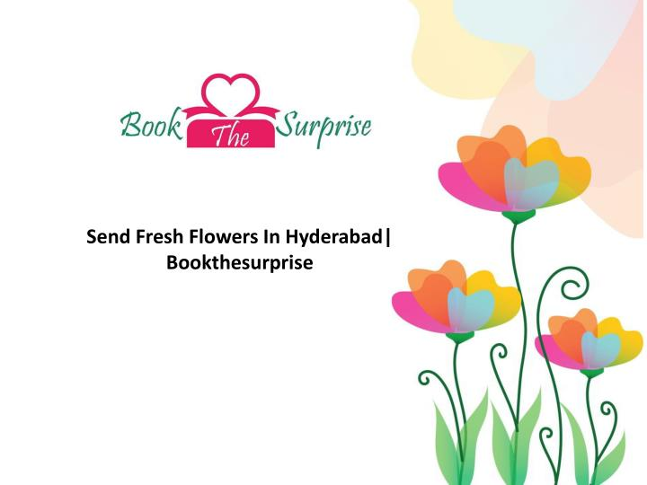 send fresh flowers in hyderabad bookthesurprise n.