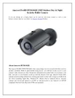 Amcrest ProHD IP2M-842E 2MP Outdoor Day & Night Security Bullet Camera