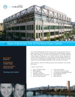 Portland Data Center  | Opus Intractive