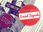 Introduction to social signals public