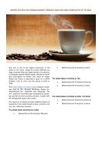 United States Hot Drinks: Prospects, Trends, Market Size and Forecasts up to 2022