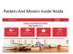 Packers And Movers Inside Noida