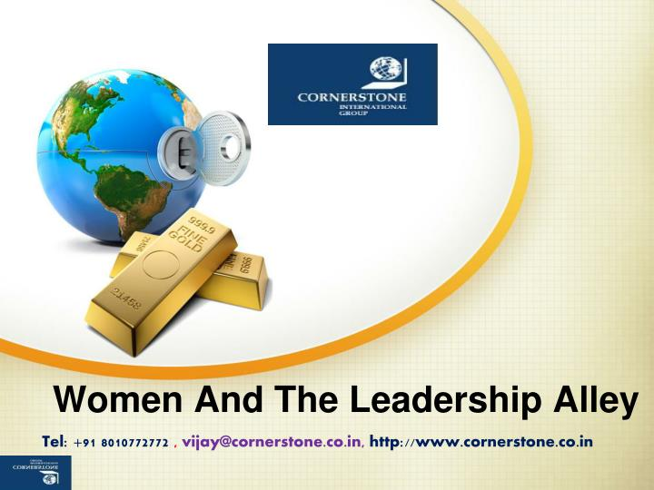 women and the leadership alley n.