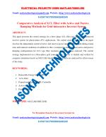 Comparative Analysis of LCL Filter with Active and Passive Damping Methods for Grid-interactive Inverter System