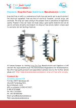 Polymeric Drop Out Fuse (Solid Core) Manufacturers In UAE