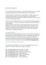 Deep Web Facts And Links