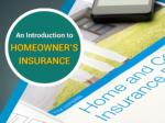 What is Home Insurance? A Quick Guide and Introduction