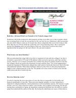 Hydrolux:- Advanced Skin Care Formula to Get Natural younger look!