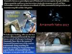 Online booking of Helicopter Tickets for Amarnath pilgrimage begins