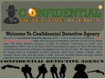 No. 1 Detective Agency in India || Confidential Detective Agency
