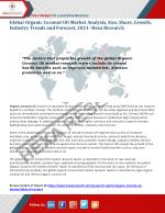 Organic Coconut Oil Market Size, Share, Growth and Forecast to 2021 - Hexa Research