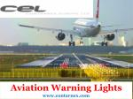 Aircraft warning lights - Contarnex