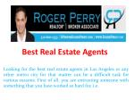 Best Real Estate Agents