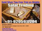 Gold Silver Tips Free Trial on Mobile