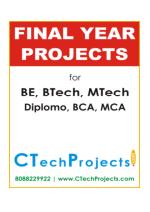 IEEE Final Year Project Titles 2016-17 - Java