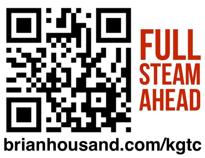 kgtc full steam ahead keynote 2014 n.