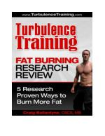 Turbulence Training Fat Burning Research