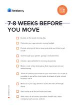 Moving checklist by Rentberry
