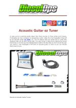 Acoustic Guitar oz Tuner