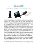Yealink IP Phones for Business Communication