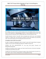Best coaching classes for NEET UG Exam.