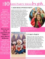 Let's go! Best Kids Party Ideas for Girls in Melbourne!