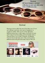 Buy eyewear online: Get the latest designer eyewear online only at Infibeam eyewear store.