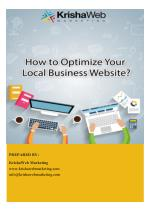 How to Optimize Your Local Business Website ?