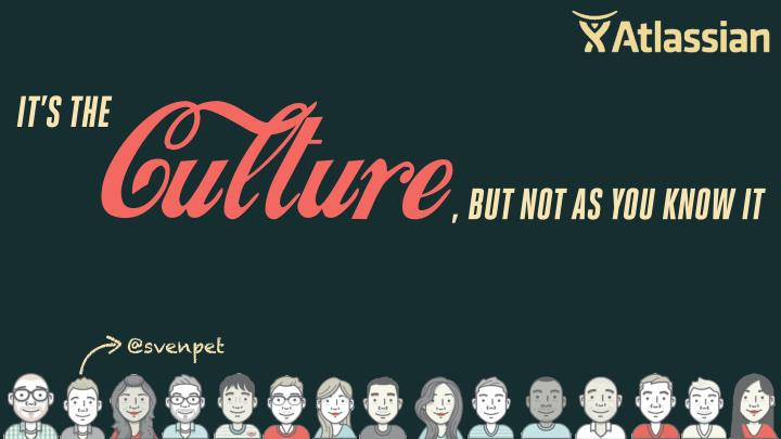 it s the culture but not as you know it n.