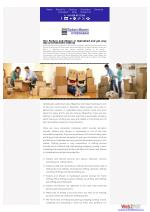 Hire Packers and Movers in Hyderabad and get easy way of comfortable shifting
