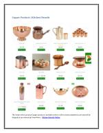 Copper Products | Kitchen Utensils
