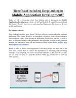 Mobile App Development For Android