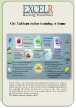 Get Tableau online training at home