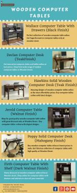 Affordable Computer Tables Available Online in India - Wooden Street