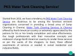 Water Tank Cleaning Services in Chennai