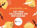 Get Free Followers onInstagram from real users.